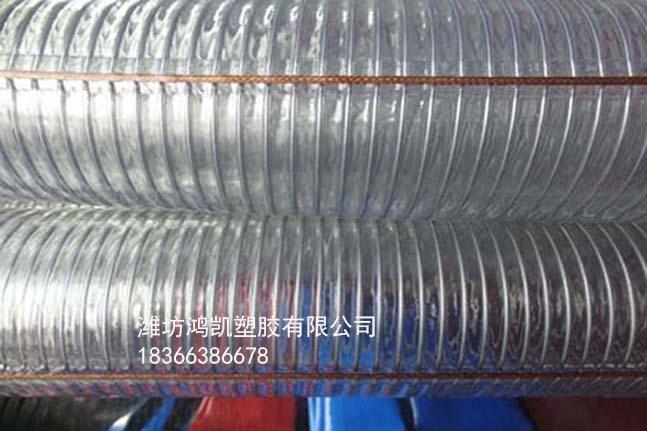 耐低温硅胶钢丝软管