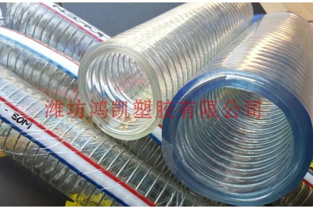 PVC钢丝网软管